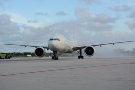 TURKISH AIRLINES' INAUGURAL ISTANBUL-MIAMI FLIGHT HEADLINES HUGE DAY OF NEW AIR SERVICE AT MIA
