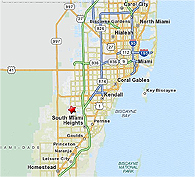 Click to enlarge Kendall-Tamiami Executive Airport map location