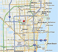 Click to enlarge Opa-Locka Airport map location