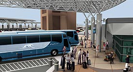 Click image to enlarge Intercity Bus Terminal