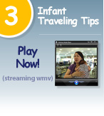 TSA Video - Infant Traveling Tips