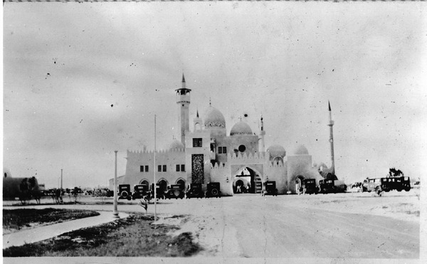 "Mr.Curtiss founded the Opa-locka Corporation in 1925 and had architect Bernhardt Muller design a town in an Arabian Night's motif, inspired by the success of the recently released film, ""The Thief of Baghdad†starring Douglas Fairbanks"