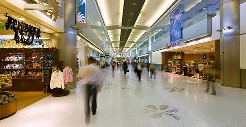 View of Concourse D, Nort Terminal - click to view more images