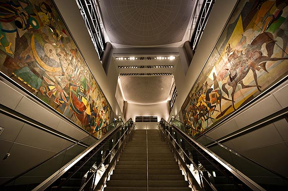 Carybé Murals - South Terminal H