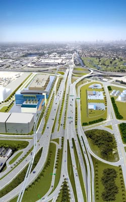 Miami Airport - Central Boulevard Widening Realignment and Service Loop Project