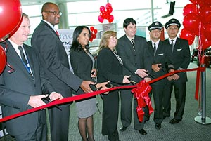 MIA WELCOMES NEW CARRIER TACA PERU