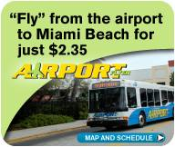 Airport Flyer - map and schedule