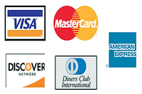Forms of payment: Cash, checks (drawn on US banks), American Express Travelers Cheques and credit cards (Visa, MasterCard, American Express, Discover and Diners).