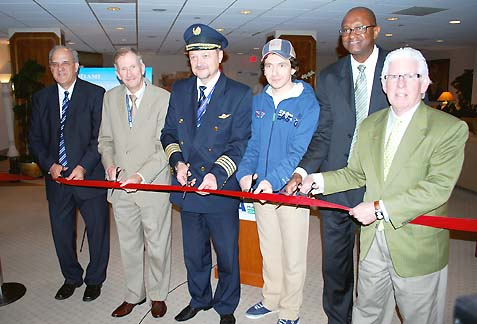 MIA WELCOMES INAUGURAL TRANSAERO AIRLINES FLIGHT FROM MOSCOW
