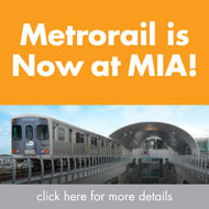 Click here for more information about the AirportLink and MIA's Metrorail station