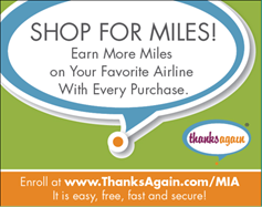 THANKS AGAIN and the MIA Shops & Restaurants Launch Automated Loyalty Program for Shopping and Dining Customers in MIA