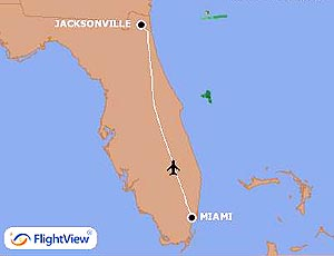 Delta Air Lines Will Begin Four Nonstop Daily Services Between Jacksonville and Miami in March