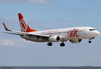 GOL Seeks Rights To Operate Sao Paulo-Caracas-Miami Service