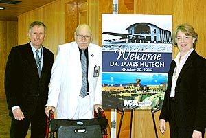 88-Year-Old Grandson of Jackson Hospital Founder Visits New Facilities